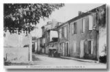 Rue de Bordeaux avec le bureau de La Poste 1930